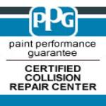 PPG Certified Collision Repair Center